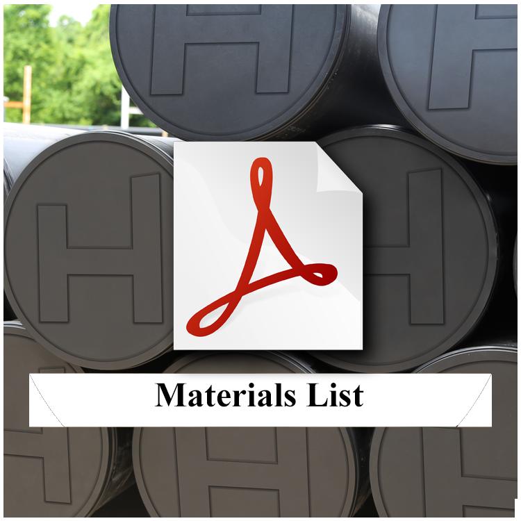 Highland-Floating-Dock-System-Materials-List